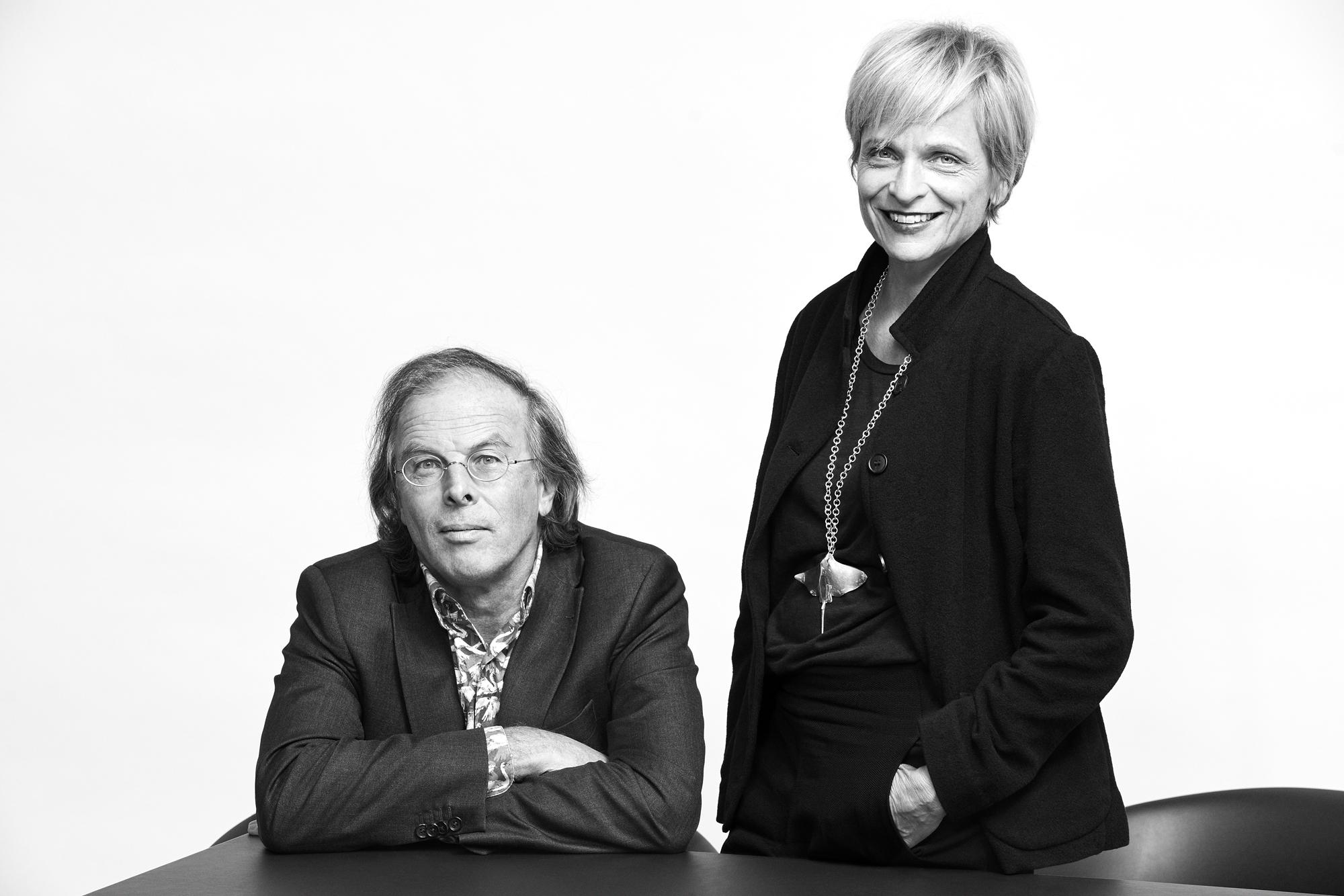 Tristan Kobler und Barbara Holzer. HolzerKoblerArchitekturen Bild: @ Sven Bänziger