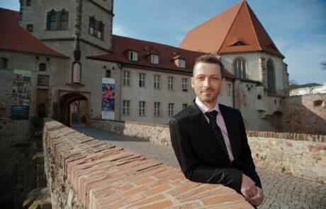 Thomas Bauer-Friedrich. Direktor Kunstmuseum Moritzburg. Foto: Karsten Möbius, Halle (Saale)